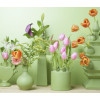 more lovely green clay vases at by Heinen Delft Blauw shop.holland.com