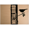 Gift for him or gift for her: Metalbird Robin; a metal bird for in the garden