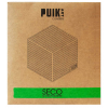 A package includes 5 stainless steel coasters; designed by Puik Art from Amsterdam