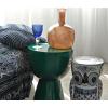 Set of 6 wine glasses kobalt , design Pols Potten, adds color to your dinner table