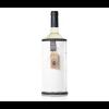 Designer sheepskin wine cooler Wooler white