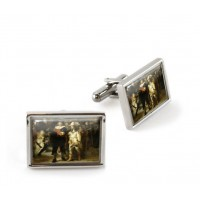 Rembrandt Cufflinks The Night Watch