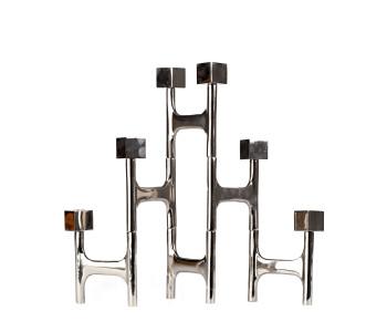 Kerzenleuchter, Kerzenhalter, Aluminium Kerzenleuchter