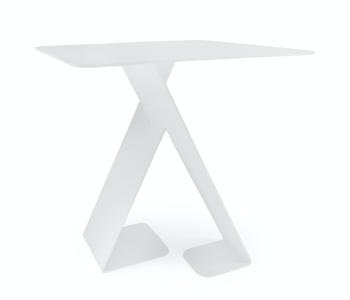 Achterkant Dance tafeltje in wit van het Dutch design merk ignore
