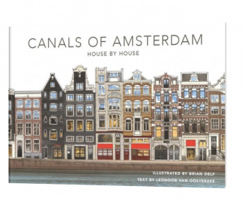"""Buch """"The Amsterdam Canals"""" von TerraLannoo"""