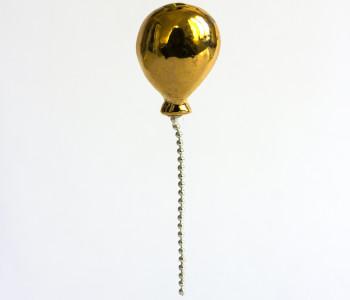 Ballon Broche goud van STOOK Sieraden koop je bij shop.holland.com
