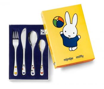 Miffy Kinderbesteck, Kindergeschenk Besteckset