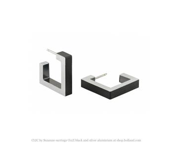 Dutch Design Clic Creations Ohrschmuck, Click Creations Schmuckstücke, Ohrringe Frau, Fashion und Accessoires