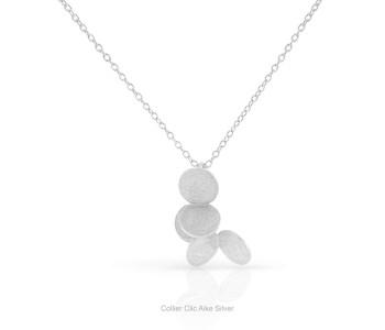 Clic collier Aike zilver - een bijzonder sieraad
