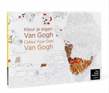 Malbuch 'Kleur de bovenkant van Nederland' mit Malbögen von Karel Tomeï
