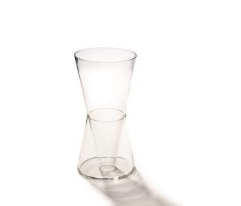 Doppelte Vase Goods Kristall Teile