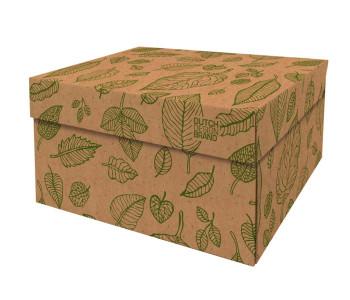 Dutch Design Aufbewahrungsbox Natural Leaves 40x31x21cm unter shop.holland.com