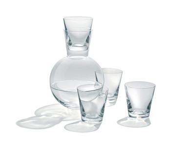 Kristal glazen serie van Droog Design