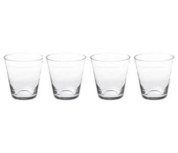 Set van 4 glazen Pure - passend bij de karaf Pure