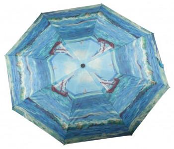Vincent Van Gogh paraplu met print van het schilderij Zeegezicht
