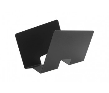 Gispen Contour Zeitschriftenständer aus schwarzem Stahl von Robert Bronwasser