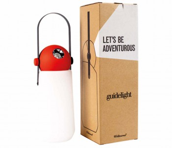 Weltevree Guidelight LED lamp - wit met rood
