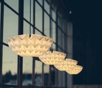 Discus Hanglampen S en M van Daniëlle Origami