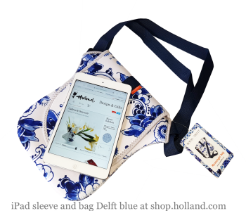 Delfter Blau Umhängetasche von Royal Delft unter shop.holland.com