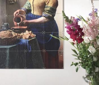 IXXI Wanddekoration Das Mädchen mit dem Perlenohrring - Small