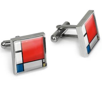 Baseball Kartenständer von Duo Design Schwarz Rot Blau Aluminium