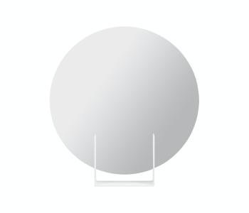 Look spiegel rond wit van het Dutch design merk Ignore