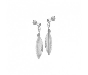 Silberne Ohrringe Corina Rietveld Ohr Ringe Ohrhänger klassische Ohrringe Silber