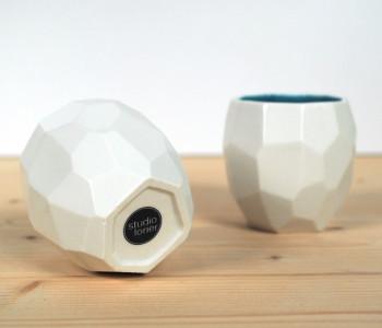 Polygoon koffiebekers online bestellen bij shop.holland.com - prachtig Dutch Design