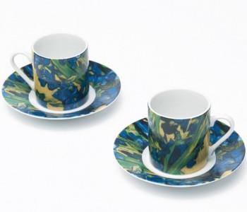 Van Gogh Espressotassen Iris - Schwertlilien