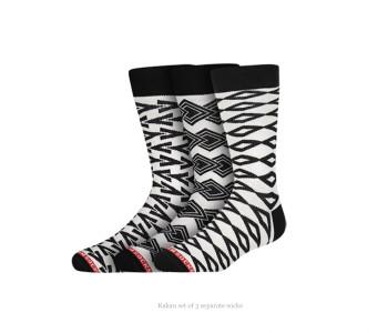 Kakau mix & match sokken van Heroes on Socks koop je bij shop.holland.com