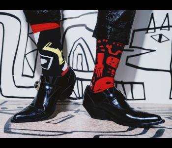 ON Socks Voodoo Punk sokken - maat 40-46