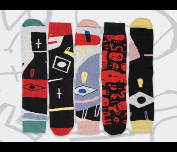 ON Socks Voodoo Punk sokken - Set van 5 verschillende  koop je bij shop.holland.com