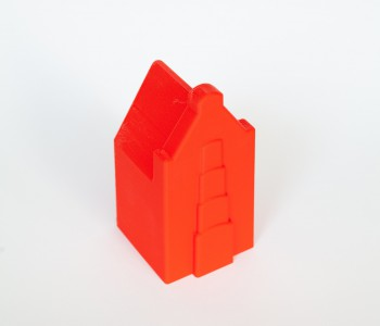 Sandmarks zandbak speelgoed - Grachtenhuisje Rood