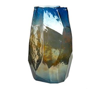 Pols Potten Vase Graphic Luster L 40,5 cm Buntglas
