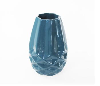 Diamant Vase S Fairtrade Original Weiß Facetten Small