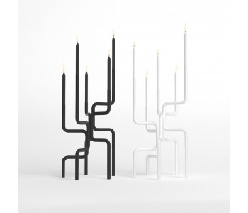 Kerzenleuchter Design Frederik Roijé Walk of Flame