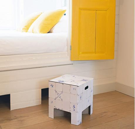 Design Hocker Holländische Fliesen - shop.holland.com