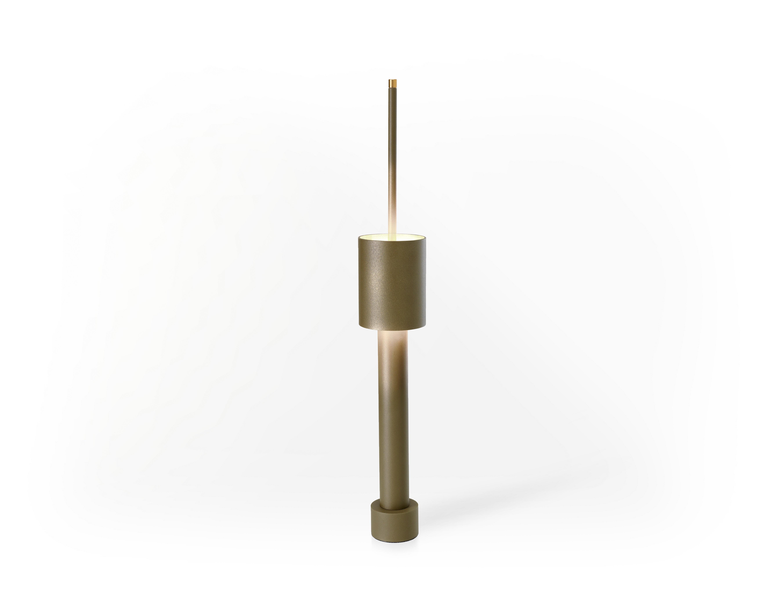 Design Tafel Lamp : Design table tower lampe frederik rojié bestellen