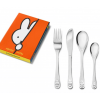 Zilverstad Miffy Kinderbesteck 4-teilig Edelstahl