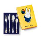 Miffy spielt 4-teiliges Kinderbesteck von Zilverstad