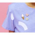 Candy Pin in Pink oder Gelb von STOOK Schmuck