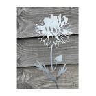 Blumen aus Cortenstahl van Studio Divers - Dahlie 70 cm