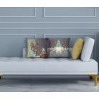 Hendrik' Design Kissenbezüge in 3 Designs 45x45 cm