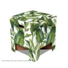 Dutch Design Hocker Grüne Blätter von Tim Várdy