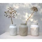 Humade tektonische Vase in 3 Varianten