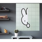 Miffy spielt verstecken und suchen IXXI Wanddekoration 120 x 140 cm