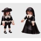 Marten und Oopjen als Playmobil Figuren - Rijksmuseum Amsterdam