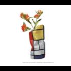 Papier Faltvase Small - Mondrian