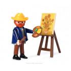 Playmobil-Paket 70686 Van Gogh Sonnenblumen - Van Gogh Museum