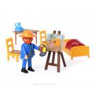 Playmobil-Paket 70687 Van Gogh Das Schlafzimmer - Van Gogh Museum